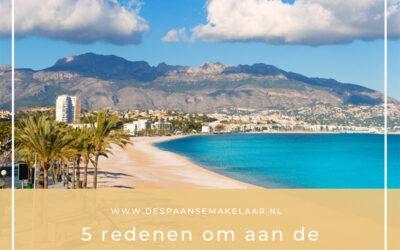 Vijf redenen om naar de Costa Blanca te emigreren