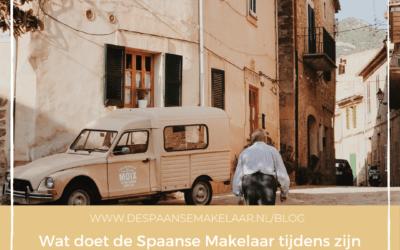 Wat doet de Spaanse Makelaar tijdens zijn maandelijkse workation in Spanje?